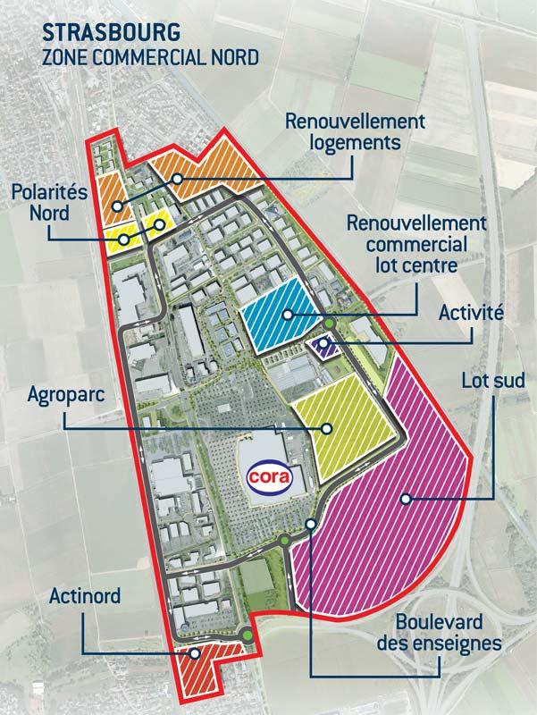 Renouvellement urbain et commercial de la zone commerciale - Zone commerciale amiens nord ...